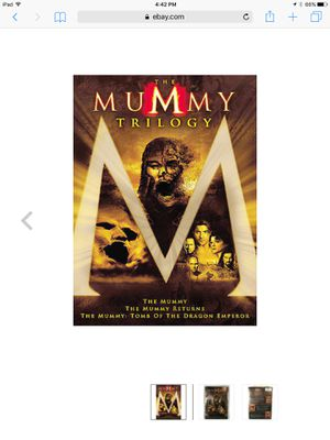 The mummy trilogy DVD set for Sale in Los Angeles, CA
