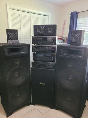 Pro studio sound system for Sale in Winter Haven, FL