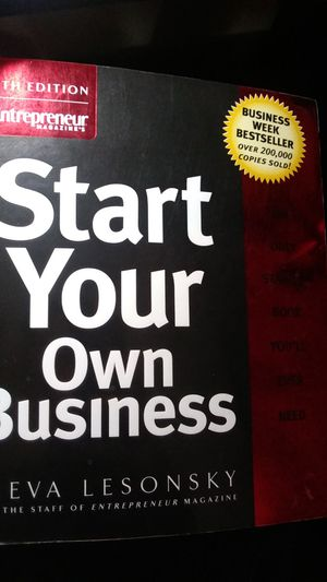 Start Your Own Business Book for Sale in Wenatchee, WA
