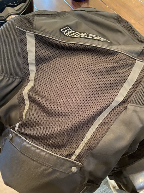 Rocket Motorcycle jacket/never used firm price can pick up at public place FIRM WILL NOT LOWER!