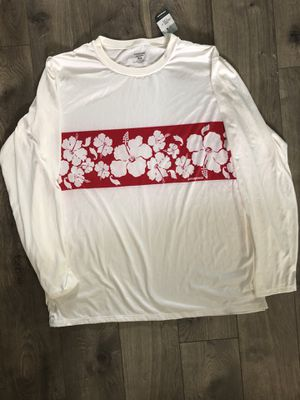 NEW PATAGONIA CAPILENE FLOWERS WHITE CREW BASE LAYER SHIRT MENS SIZE XL for Sale in Valencia, CA