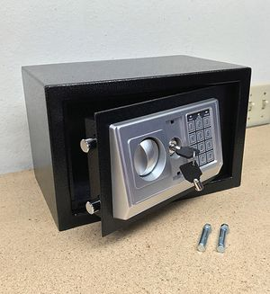 "Brand new $35 Digital 12""x8""x8"" Security Safe Box Electric Keypad Lock Money Jewelry w/ Master Key for Sale in Pico Rivera, CA"