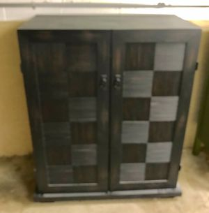 Wooden storage cabinet for Sale in Finleyville, PA