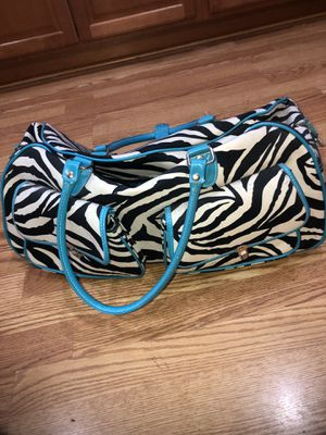 Zebra rolling luggage bag for Sale in Ontario, CA