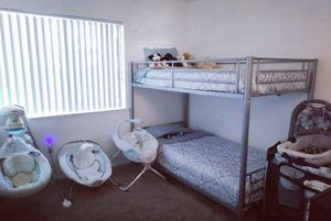 Bunk bed FRAME ONLY for Sale in Lake Elsinore, CA