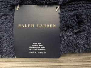 "Ralph Lauren bath rug BRAND NEW 17""x24"" for Sale in Hollywood, FL"