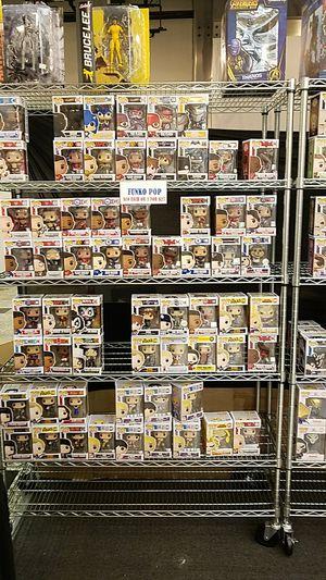 Dragon ball z, naruto, marvel, dc, animr, comics, disney, horror movies, sports funko pop $10 for Sale in Huntington Beach, CA