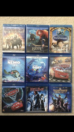 9 Blu Ray Titles in Excellent Condition. for Sale in Huntington Beach, CA
