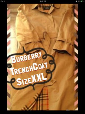 Real/Authentic BURBERRY TRENCH for Sale in Seattle, WA