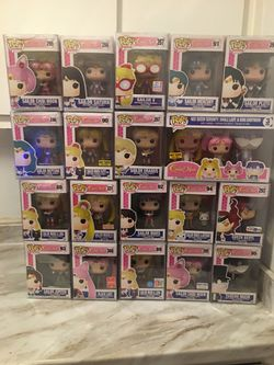 Complete Sailor moon Funko pop lot for Sale in Sacramento,  CA