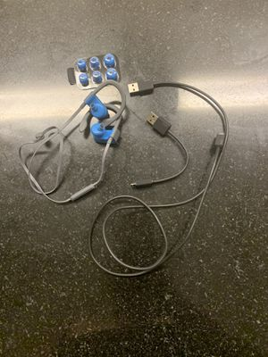 Blue beat headphones w/ accessories for Sale in Sunnyvale, CA
