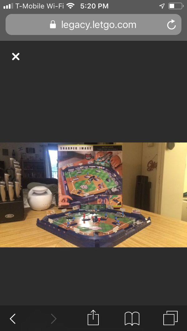 Sharper image perfect pitch board game