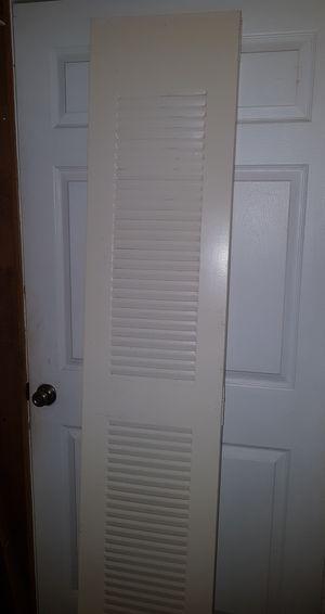 2x Metal Closet Folding Doors for Sale in Fort Lauderdale, FL