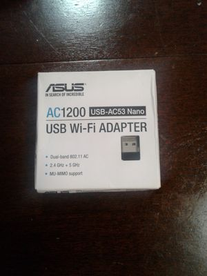 Asus Wi-Fi adapter for Sale in Charleston, WV
