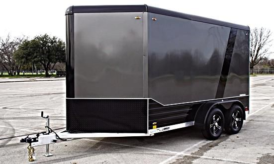 $1000 Enclosed Cargo 7X15 DELUXE V-NOSE