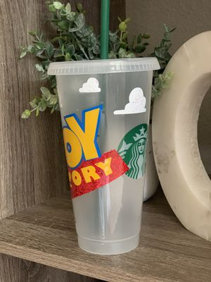 Toy story slinky Glitter Venti Starbucks cup for Sale in Gilroy, CA