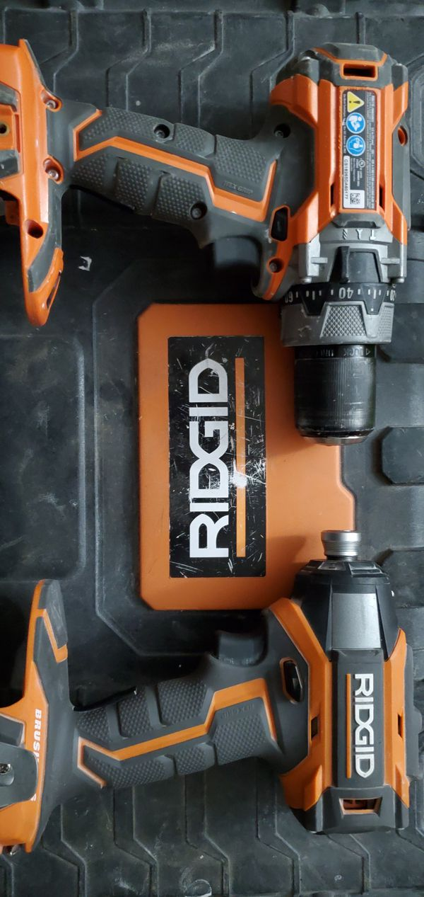 Ridgid gen 5 brushless drill set