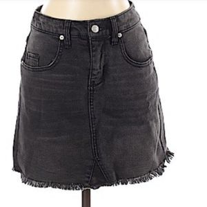 Target Fringe Black Denim Skirt New Size 10 for Sale in Pomona, CA