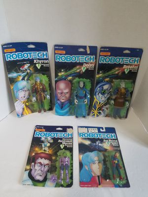 Robotech 80's action figure lot for Sale in Newberg, OR