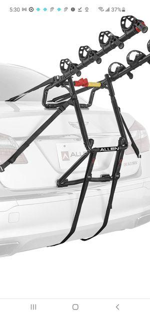 4 bike rack for car trunk for Sale in Shingle Springs, CA
