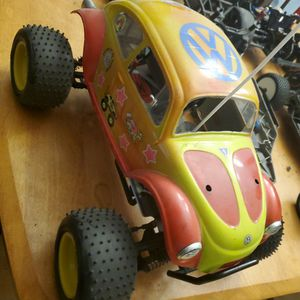 10th Scale KYOSHO NITRO BEETLE NEW OLD STOCK SHELF QUEEN for Sale in San Antonio, TX