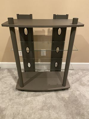 Beautiful Metal and Glass shelf - in great condition for Sale in Ashburn, VA