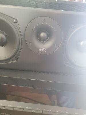 Polk Audio center speaker for Sale in Pumpkin Center, CA