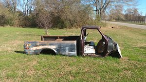1972 chevy parts for restoration cab, grill, gas tank, tail gate front and rear fenders . Solid body minimal rust $500 obo for Sale in Toney, AL