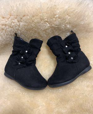 Healthtex baby girl boots size 5 for Sale in Virginia Beach, VA