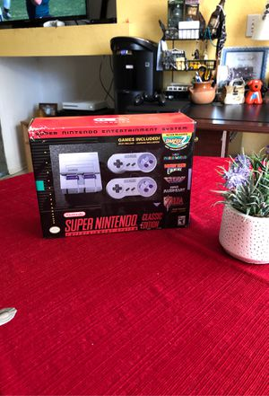 Super Nintendo Entertainment System Classic Edition for Sale in Fontana, CA