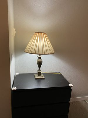Table lamps and floor lamps, IKEA end table , book shelf , wood end table for Sale in Bellevue, WA