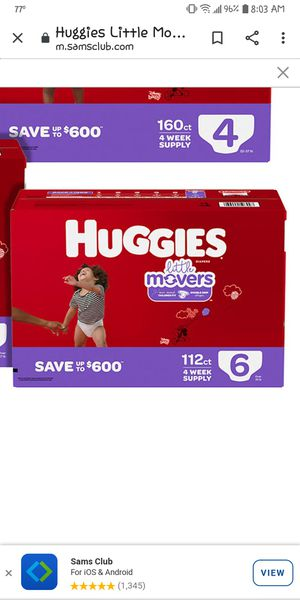 Baby diapers Size 6 for Sale in Tampa, FL