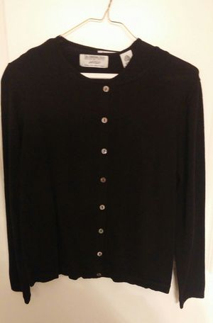 Lord And Taylor 2 Piece Sweater Set/Black/Size PM/New for Sale in Germantown, MD