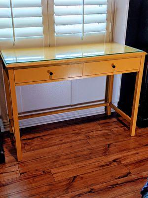 Yellow desk for Sale in Corona, CA