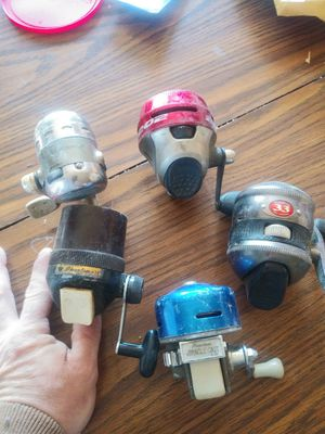 Old phatium fishing reals make offer for Sale in O'Fallon, MO
