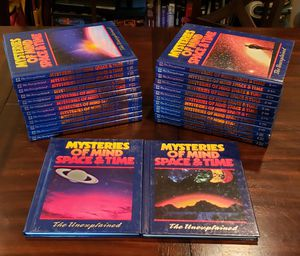 Mysteries of the Mind Space and Time book Collection for Sale in Bakersfield, CA