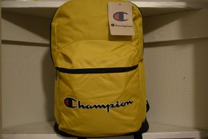 NEW W TAGS CHAMPION BACKPACK SHIPPING for Sale in Lunenburg, MA