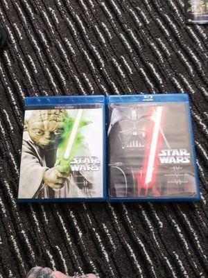 Star Wars Blu Ray 6 Film Set for Sale in Doral, FL
