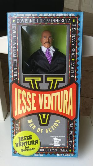 Jesse Ventura toy collection for Sale in Temecula, CA