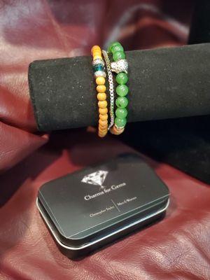 Mens charm bracelet- Power of Jade for Sale in Mesa, AZ