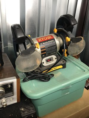 """Ryobi 6"""" bench grinder for Sale for sale  New York, NY"""