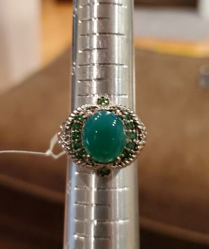 Beautiful Genuine Chrysoprase with Emerald Accents for Sale in Gainesville, VA