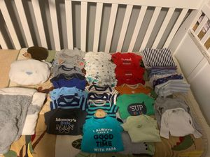 Newborn baby boy clothing bundle for Sale in Avondale, AZ