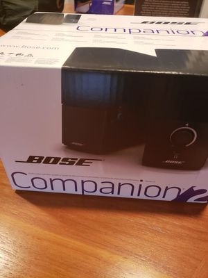 Bose Companion 2 Computer Speakers for Sale in Silver Spring, MD