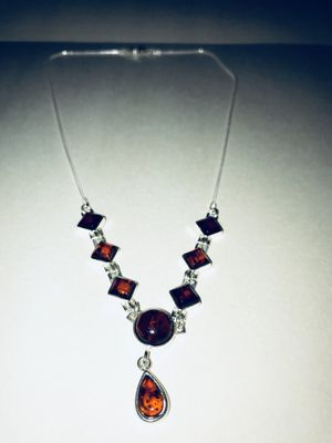 Authentic Amber Necklace from Greece - New (Open Box) for Sale in Reston, VA
