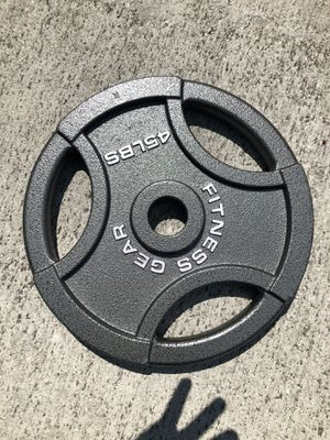Olympic weights 2/45 for Sale in Atlanta, GA