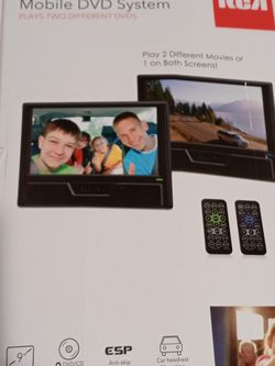 BRAND NEW!!!! RCA Double Play Mobile DVD System for Sale in Menifee,  CA