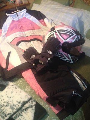 Snowmobile bibs jacket and helmet for Sale in Henderson, NV