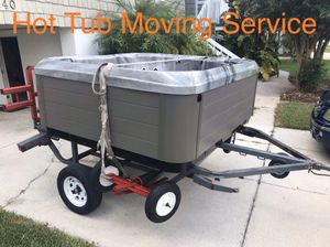 Hot Tub Spa Jacuzzi Moving for Sale in Hudson, FL