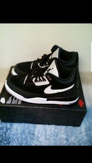 Air Jordan 3 retro th og black cement men size 10.5 for Sale in San Leandro, CA